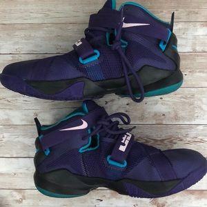 pretty nice f928b ebe6e Nike Shoes - NIKE LEBRON ZOOM SOLDIER IX 776471-501 SNEAKERS 7Y